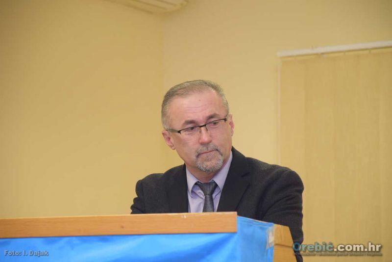 Mario Pinjuh, dosadašnji predsjednik orebićke podružnice HSP-AS