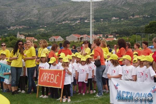 Ekipa Orebića na Olimpijskom festivalu dječjih vrtića