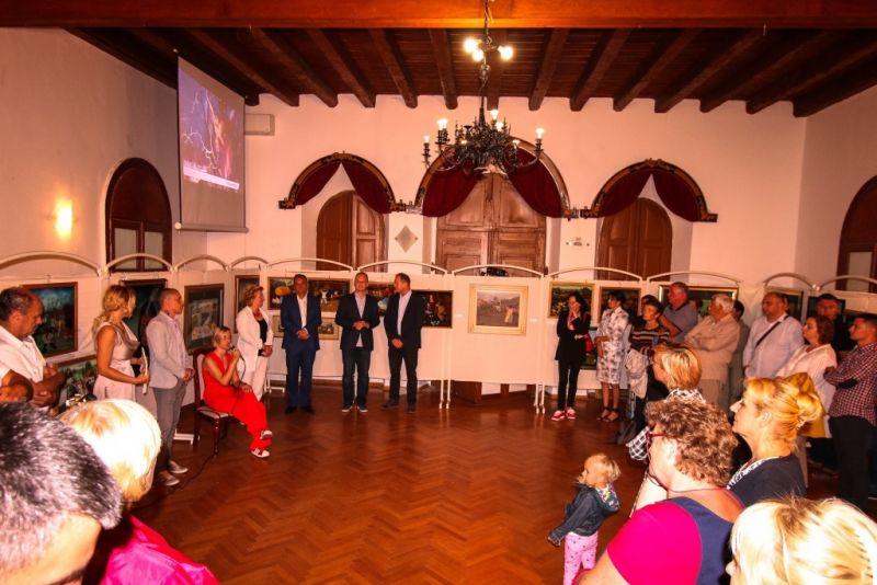 Otvorenje izložbe Hlebisnka škole