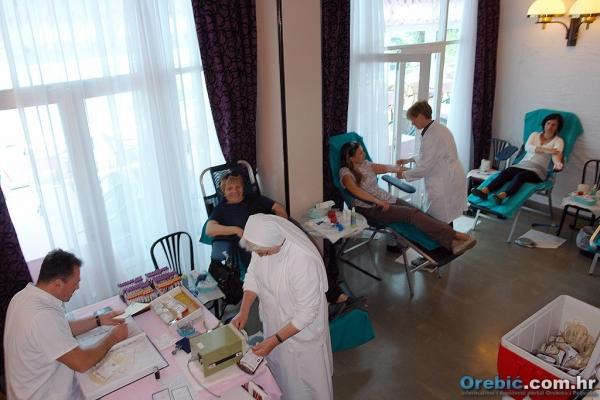 Akcija dobrovoljnog darivanja krvi u Orebiću
