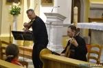Slobodan Begić, prof. violine i Dario Čagalj, prof. gitare