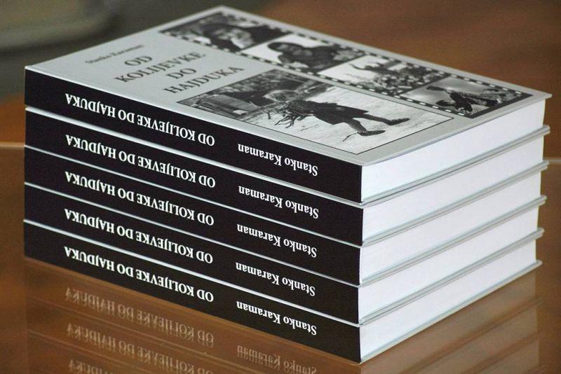 Monografija Stanka Karamana 'Od kolijevke do Hajduka'