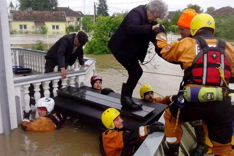 HGSS u evakuaciji stanovništva