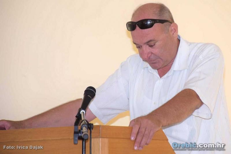Potpredsjednik Općinskog vijeća Kazimir Opačak (HKS)