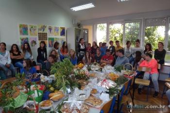 Dani kruha - zahvalnosti za plodove zemlje u OŠ Orebić