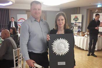 Boris i Vanja Grljušić s dodijeljenim priznanjem