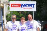 Mato, Ivica i Maja na druženju s biračima u Orebiću