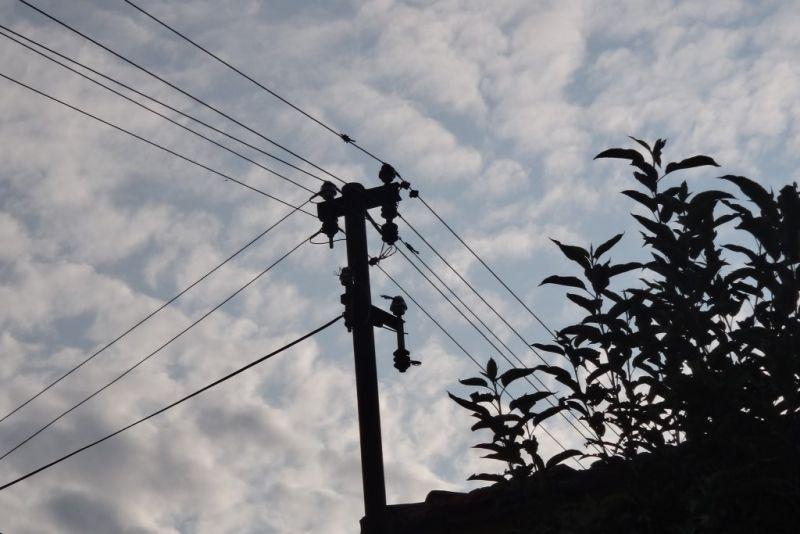 Dio stare niskonaponske mreže na području Stankovića