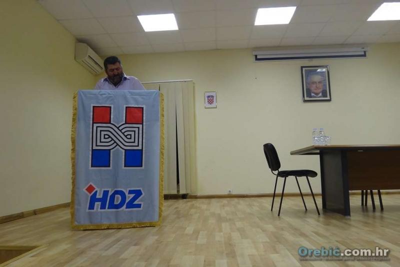 Predsjednik OO HDZ-a Orebić Miroslav Roso