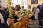 Blagoslov palminih i maslinovih grančica na sv. Misi u Orebiću