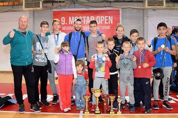 Dio članova 'Fortece' na kraju uspješnog dana u Mostaru