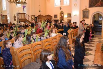 Obilježen blagdan Cvjetnice u župnoj crkvi Pomoćnice kršćana u Orebiću