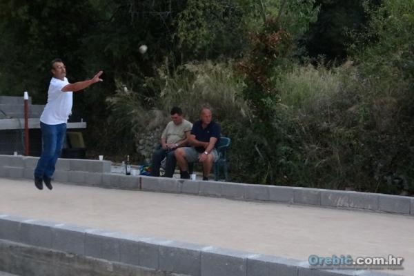 Boćari Orebića u akciji