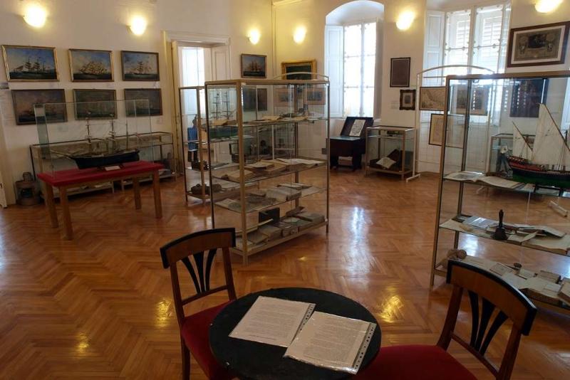 Iz Pomorskog muzeja u Orebiću