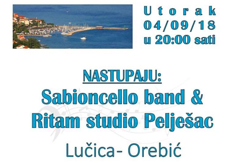 detalj plakata za koncert