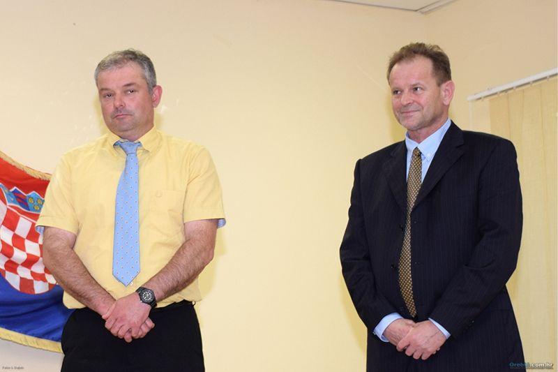 Načelnik Ančić i predsjednik OV Marelić