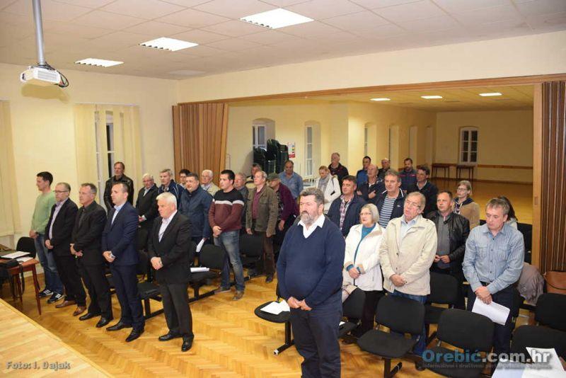 Izaslanici na izbornoj skupštini orebićkog HDZ-a