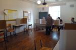 Biračko mjesto u Kuni - Odbor je i u 18 sati bio dobrog raspoloženja i na usluzi biračima