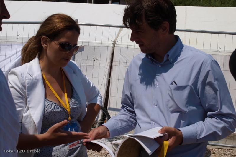 Jelena Radovanović na otvorenju SP u windsurfu u Vignju