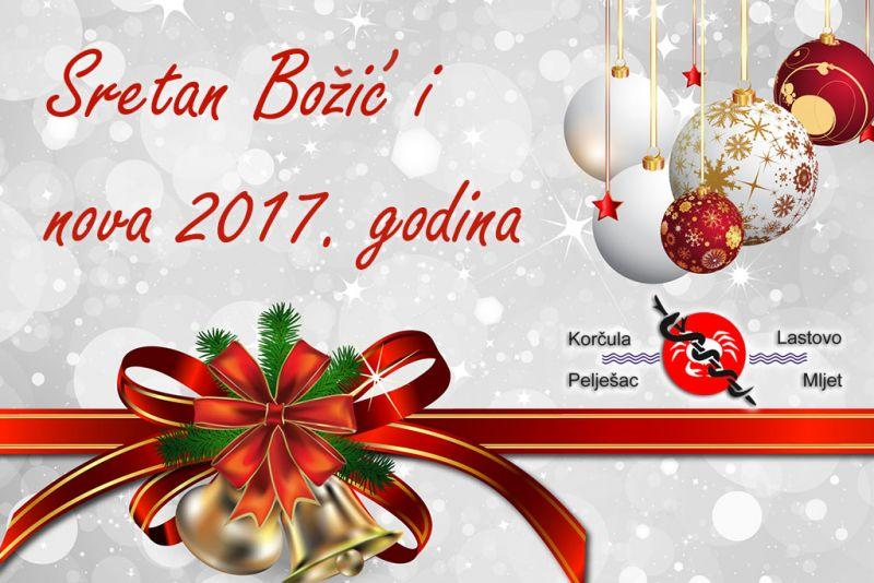 Sretan Božić želi vam pelješki ogranak Lige protiv raka Korčula-Pelješac-Lastovo-Mljet