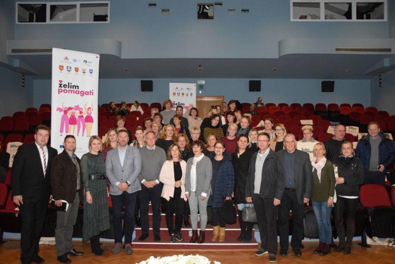 Dionici projekta 'Želim pomagati' na konferenciji u Korčuli