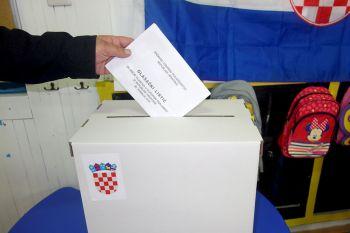 Ilustracija: glasanje na izborima