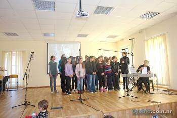 Nastup zbora OŠ Orebić