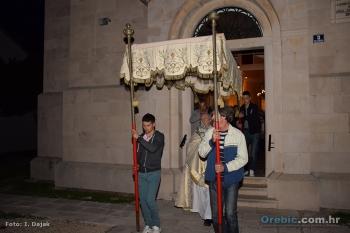 Procesija s Presvetim u Orebiću