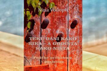 U Dubrovniku predstavljena knjiga Nine Vodopić 'Teče život kako rika, a godišta kako ništa'