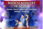 Tradicionalni božićni koncert u župnoj crkvi Pomoćnice kršćana u Orebiću