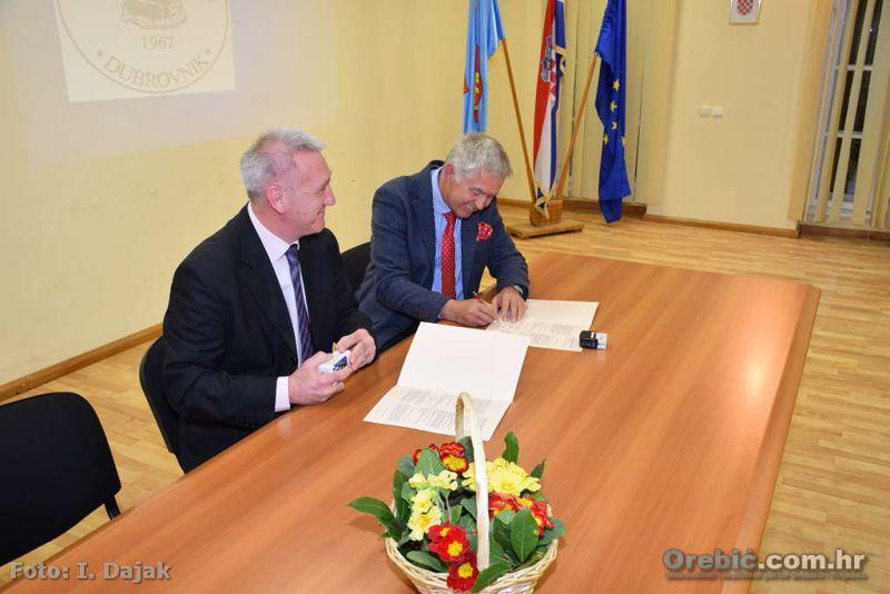 Potpisivanje povelje o suradnji