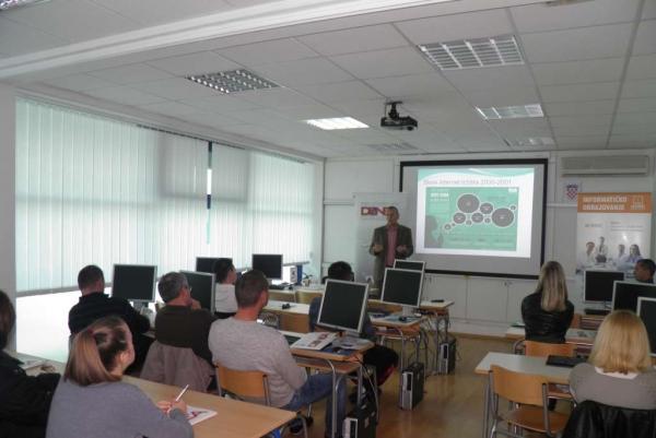 Informatička radionica DUNEA-e u Metkoviću