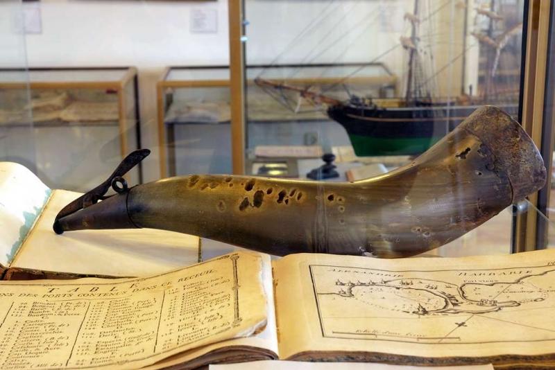 Izložak iz Pomorskog muzeja u Orebiću