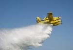 Air tractorov Fire boss u akciji