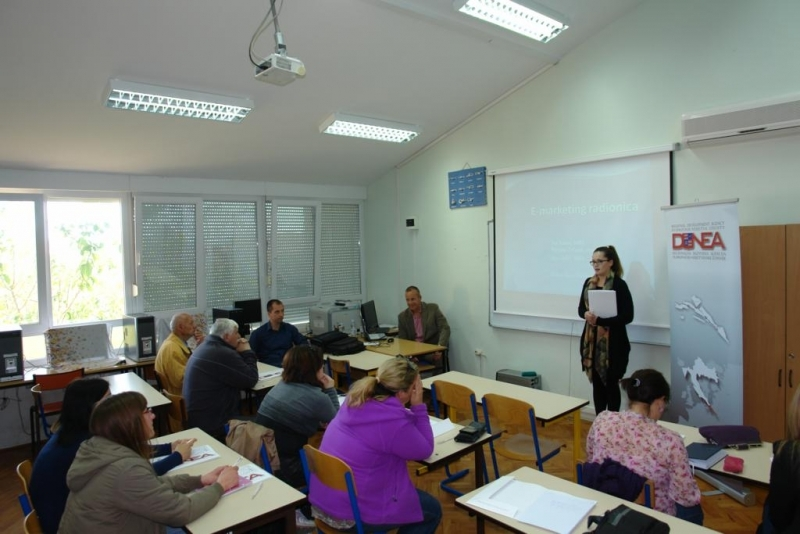 S DUNEA-ine radionice o e-marketingu održane u Orebiću