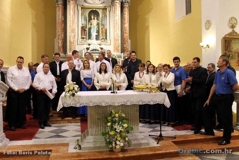 S prošlogodišnjeg Međunarodnog susreta klapa u Orebiću