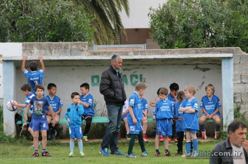 Prva službena prijateljska utakmica najmlađeg uzrasta N.K. Orebić - FOTO