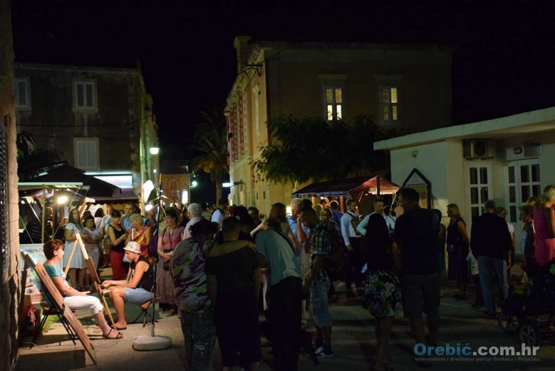 Na noći pelješke kuhinje i vina održanoj 4. rujna - još je bilo živo i veselo