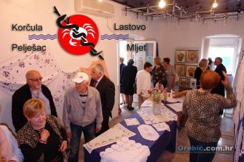 S otvorenja prostora 'Lige za borbu protiv raka' u Orebiću