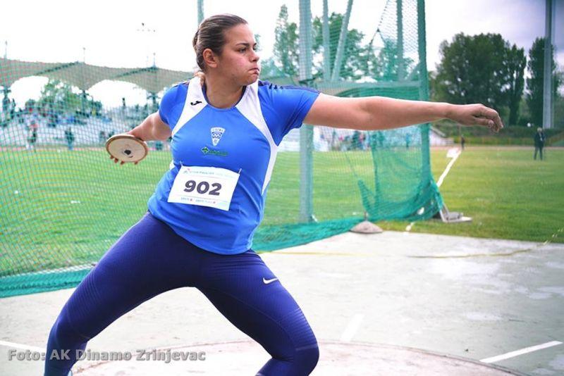 Marija Tolj na mitingu u Sloveniji postigla novi osobni rekord i prvi put prebacila daljinu od 60m!
