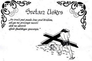 Uskrsna čestitka don Marka Stanića
