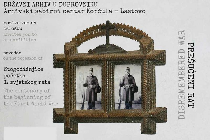 Predavanje i izložba o Korčuli, Pelješcu i Lastovu u I. svjetskom ratu u čitaonici u Orebiću