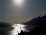 Sunce nad Pelješkim kanalom