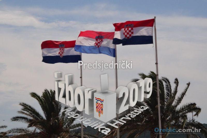 Predsjednički izbori 2019. - tko gdje glasa na području općine Orebić?