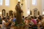 Kip sv. Ante prije procesije u župnoj crkvi u Orebiću