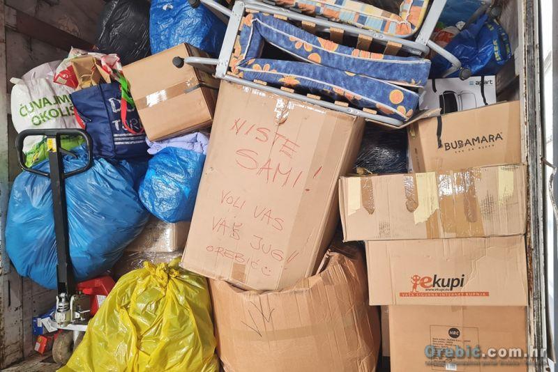 Humanitarna pomoć za pogođene potresom
