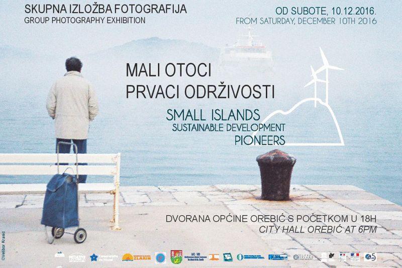 Otvorenje izložbe fotografija 'Mali otoci, prvaci održivosti' - sutra u 18 u dvorani Općine