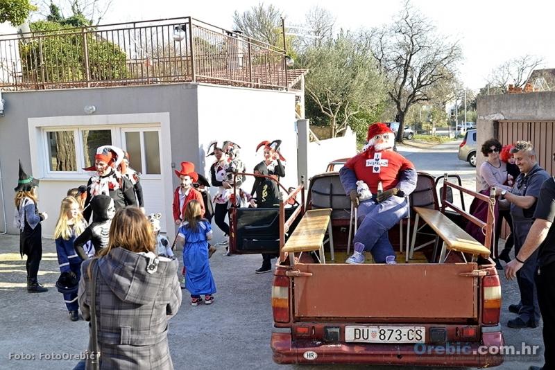Prošlogodišnje uhićenje i transport Krnje u Orebić
