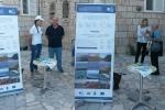 Djelatnici LAG-a u razgovoru sa zainteresiranim građanima u Korčuli