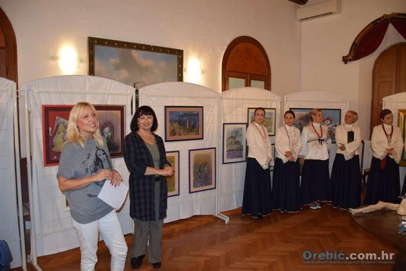 S otvorenja izložbe Vasiljke Roso i Milorada Šofranca